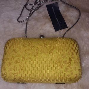 French  Connections handbag yellow